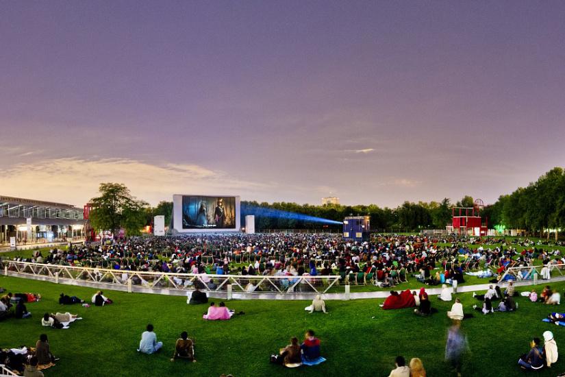 Un Festival de cinéma ouvert au parc de la Villette !