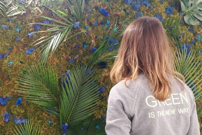 Mur végétal sur-mesure Jeantet Cadres