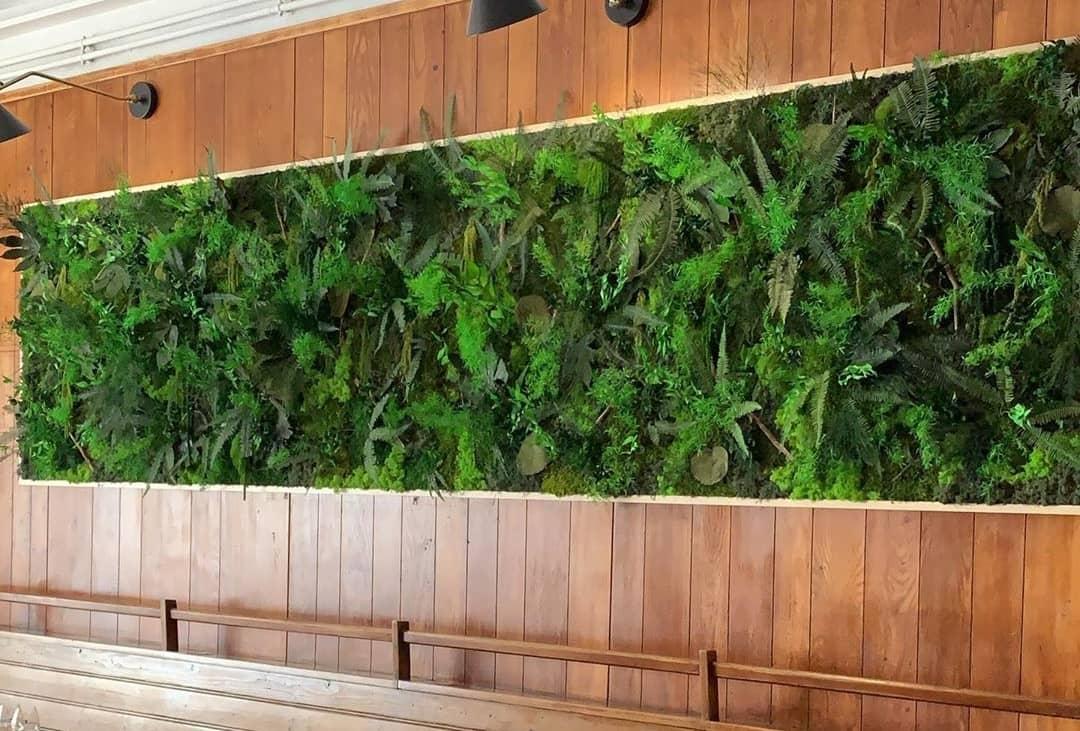 Mur végétal sur-mesure vegetal stabilisé
