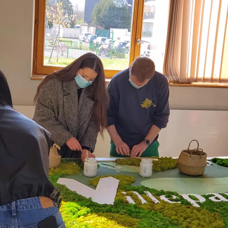 Atelier Fresque végétale