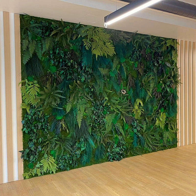 Mur végétal stabilisé sur-mesure