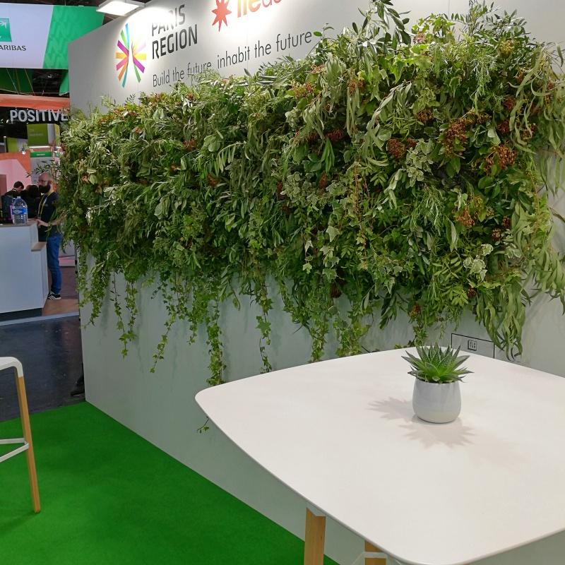 Stand végétal sur mesure
