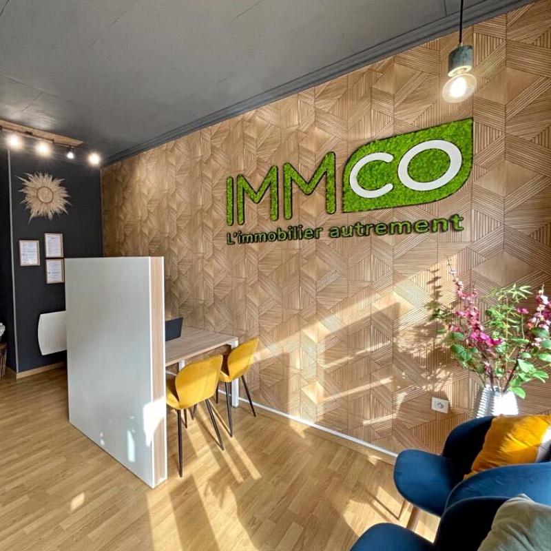 Logo végétal stabilisé IMMCO