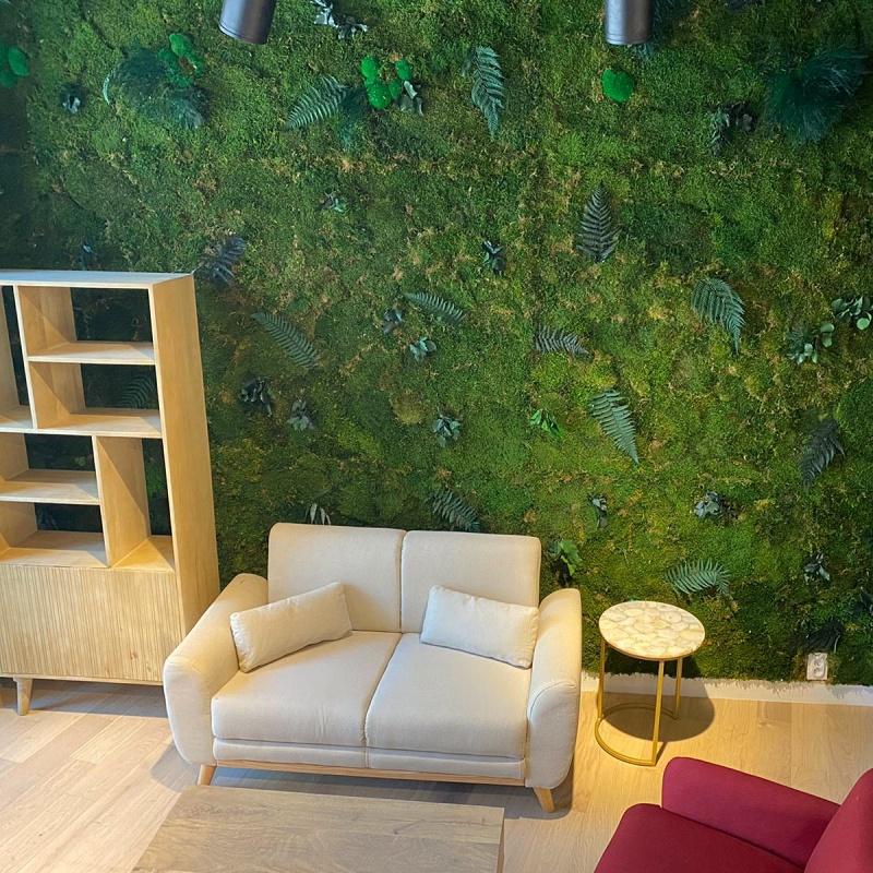 Mur végétal stabilisé sur mesure