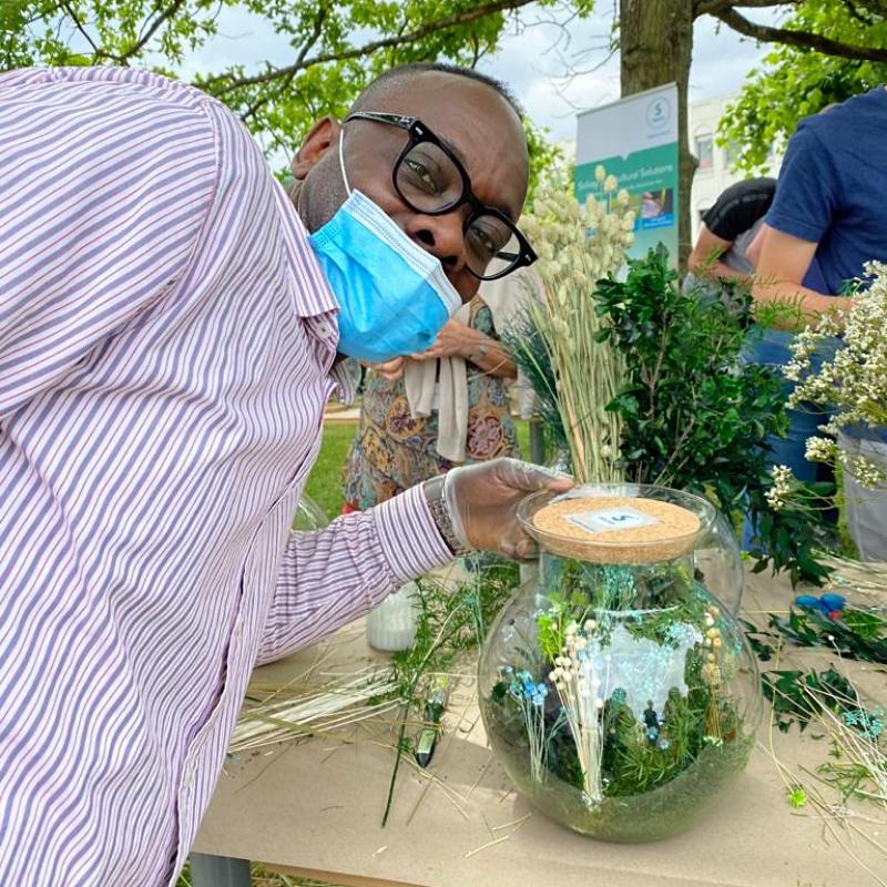 Atelier terrarium fleurs séchées Edge Event